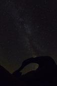 The Milky Way through Mobius Arch, Alabama Hills, Owens Valley, California