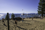 Beach volleyball at Zephyr Cove, Nevada