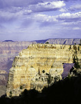 Angel's Window is a massive limestone on on the North Rim of Grand Canyon National Park, Arizona