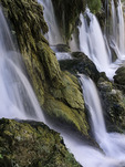 Emerald Falls, Havasupai Reservation, Grand Canyon, Arizona