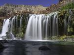 Little Navajo Falls, Havasupai Reservation, Grand Canyon, Arizona