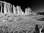 Photographing Wall Street, Cathedral Valley, Capital Reef National Park, Utah