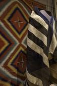 Navajo weavings, Heard Museum, Phoenix, Arizona