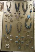 Native American jewelry, Heard Museum, Phoenix, Arizona