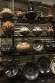 Native American pottery, Heard Museum, Phoenix, Arizona