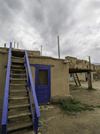 Taos Pueblo on a cloudy summer morning, Taos, New Mexico