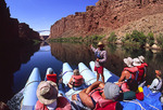 First morning on the river, approaching Navajo Bridges, south of Lee's Ferry, Arizona