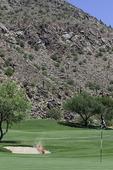 Golfing the Canyon course at the Phoenician Resort, Phoenix, Arizona