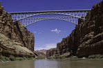 Navajo Bridges downstream of Lee's Ferry, Arizona