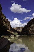 Summer afternoon on the Colorado River in Marble Canyon, Arizona