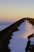 Hiking to the summit of Mauna Kea, Big Island, Hawaii