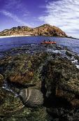 Kayaking in Bahia Santa Maria, Los Cabos, Baja California, Mexico