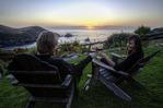 Wine tasting at the Little River Inn, Albion, Mendocino County, California