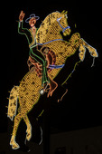 The Hacienda horseman, Fremont Street, Downtown Las Vegas, Nevada