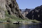 Kayaking the Colorado River in Black Canyon, Arizona