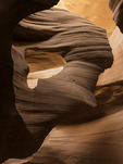 Hole-In-The Rock Arch, Antelope Canyon, Page, Arizona