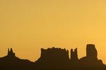 Sunrise over Monument Valley, Arizona