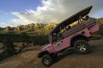 Riding the Broken Arrow Trail with Pink Jeep Tours, Sedona, Arizona