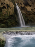 Havasu Falls, Havasupai reservation, Grand Canyon, Arizona