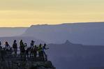 Tourists at Mather Point, Grand Canyon National Park, Arizona
