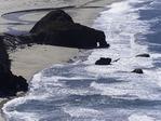 Sea arch on the Big Sur Coast, California