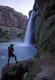 Photographing Havasu Falls, Havasupai Reservation, Grand Canyon, Arizona