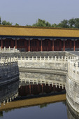 Moat inside the Forbidden City, Beijing, China