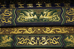 Gilt symbolic decoration at the Temple of Heaven, Beijing, China