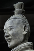 Mid-ranking officer, Terra Cotta Warriors Museum, Xi'an, China