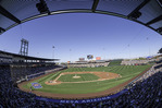 Cubs fans enjoy spring training at Sloan Park, Mesa, Arizona