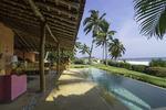 Luxury lodging at Las Alamandas, Costa Allegre, Mexico