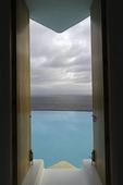 Infinity pool in the enclave of El Careyes, Costa Allegre, Jalisco, Mexico