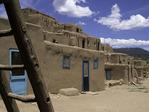 Taos Peblo, summer, New Mexico