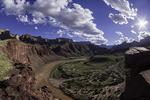 Unkar Rapid and delta, from Hilltop Ruin Trail, Grand Canyon National Park, Arizona