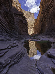 Monsoon pool in North Canyon, Grand Canyon National Park, Arizona