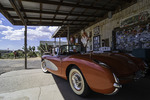 1957 Corvette, in front of the famous General Store, Hackberry, Arizona