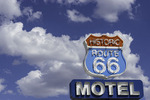Route 66 Motel on Main Street, Old Route 66 in Seligman, Arizona
