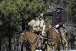 The Hashknife Pony Express rides across the Mogollon Rim to Payson, Arizona
