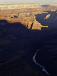 Winter sunrise over the Colorado River from Mohave Point, Grand Canyon National Park, Arizona