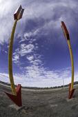 Twin Arrows, on Route 66, Arizona