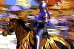 Jousting at the Renaissance Fair, Gold Canyon, Arizona