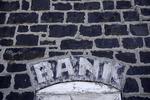 Bank sign, Endicott, Palouse, Washington