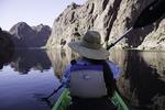 Kayaking in Black Canyon, Arizona