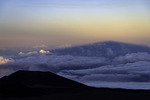 Shadow cast by Mauna Kea, Big Island, Hawaii
