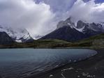 Lago Nordenskjold, below Los Cuernos, Torres del Paine National Park, Patagonia, Chile