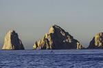 Dawn SUP before El Arco, Cabo San Lucas, Baja California Sur, Mexico
