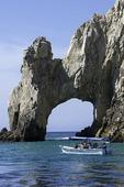 Glass bottom boat tour by El Arco, Cabo San Lucas, Baja California Sur, Mexico