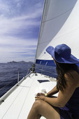 Sailing tour off Cabo San Lucas, Baja California Sur, Mexico