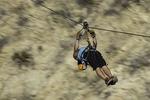 Ziplining near Cabo San Lucas, Baja California Sur, Mexico