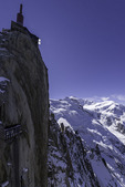 The Needle at the Midi, 12,600' on Mont Blanc, Chamonix, France